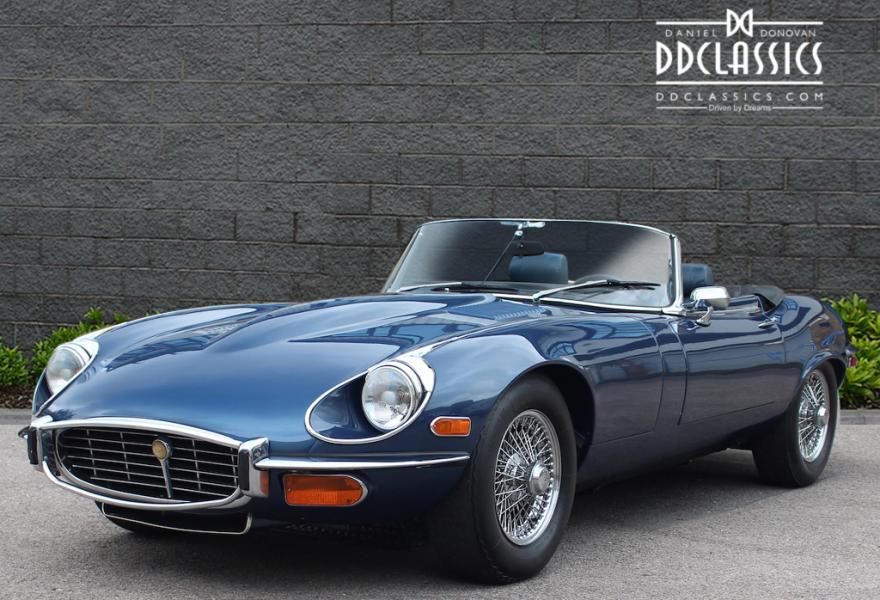 1972 Jaguar E-Type Series III V12 Roadster (LHD) for sale in London