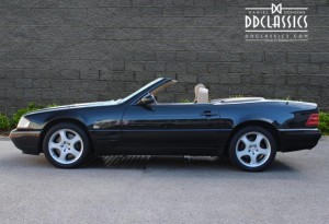 2000 Mercedes 320 SL Roadster (RHD) for sale in London