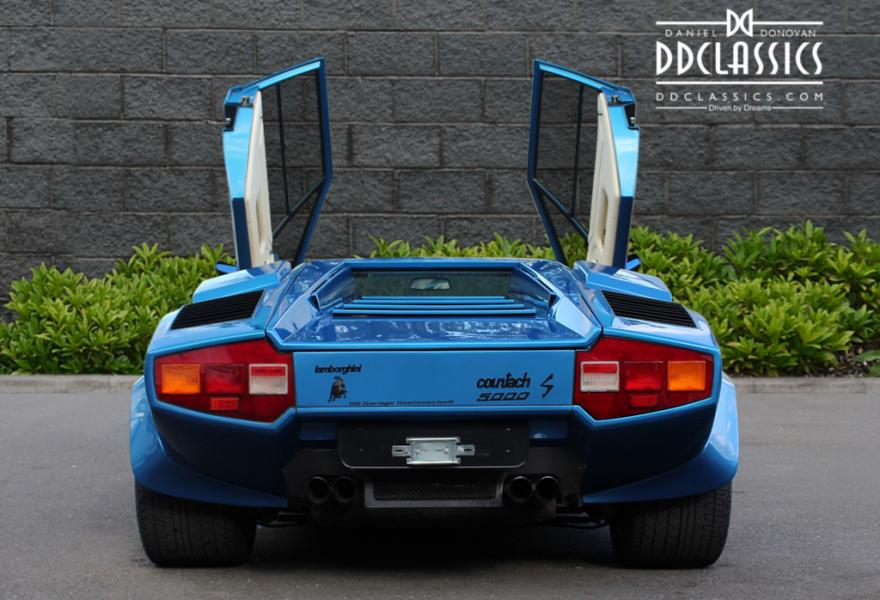 1984 Lamborghini Countach 5000 S (LHD) for sale in London