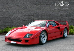 1991 Ferrari F40 (LHD) for sale in London