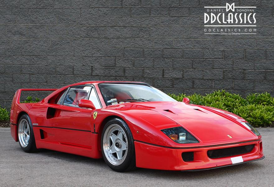 1989 Ferrari F40 Non-Cat (LHD) for sale in London