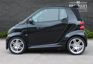 2010 Smart ForTwo Brabus Cabrio (RHD) for sale in London