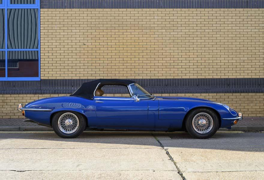 1973 Jaguar E Type V12 Roadster (RHD)