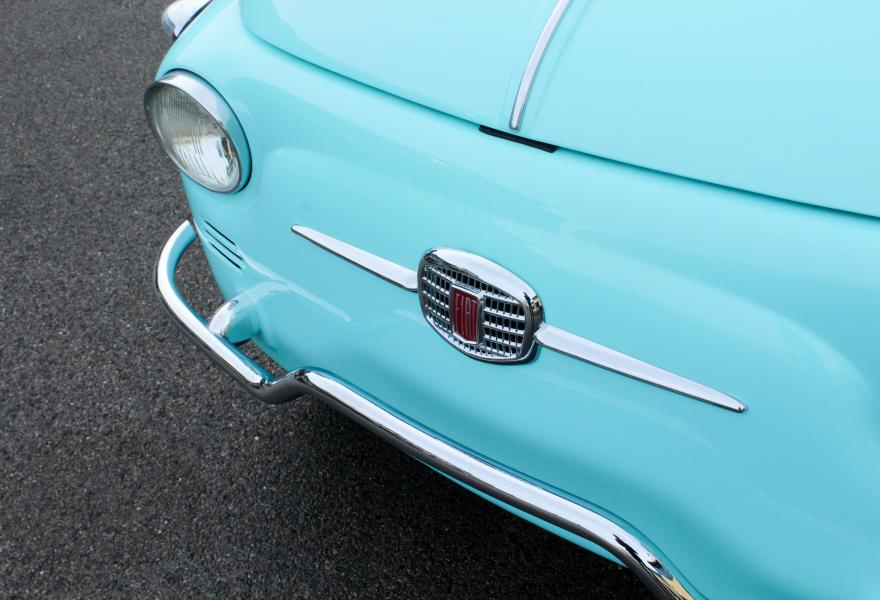 Fiat 500 Jolly - Blue-17