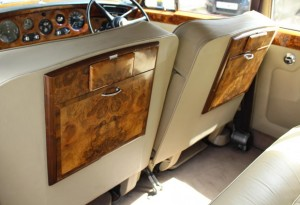 Rolls Royce Silver Cloud III Garnet over sand Beige Hide