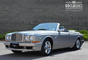 bentley azure cabriolet convertible georgian silver