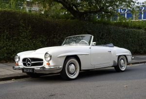 1962 Mercedes 190 SL Roadster (LHD)