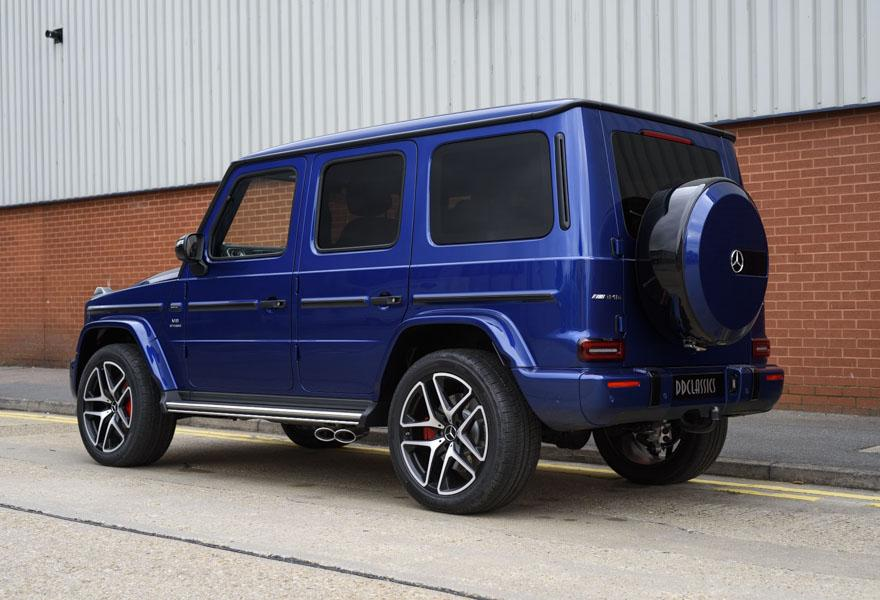 2018 Mercedes-Benz G63 AMG V8 Bi-Turbo (RHD)
