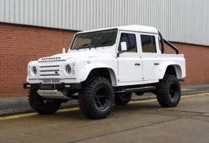 2008 Land Rover Defender 110 2.4 TDCi Country Pick Up (RHD)