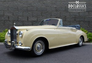 1962 Rolls-Royce Silver Cloud II Drophead For Sale in London LHD