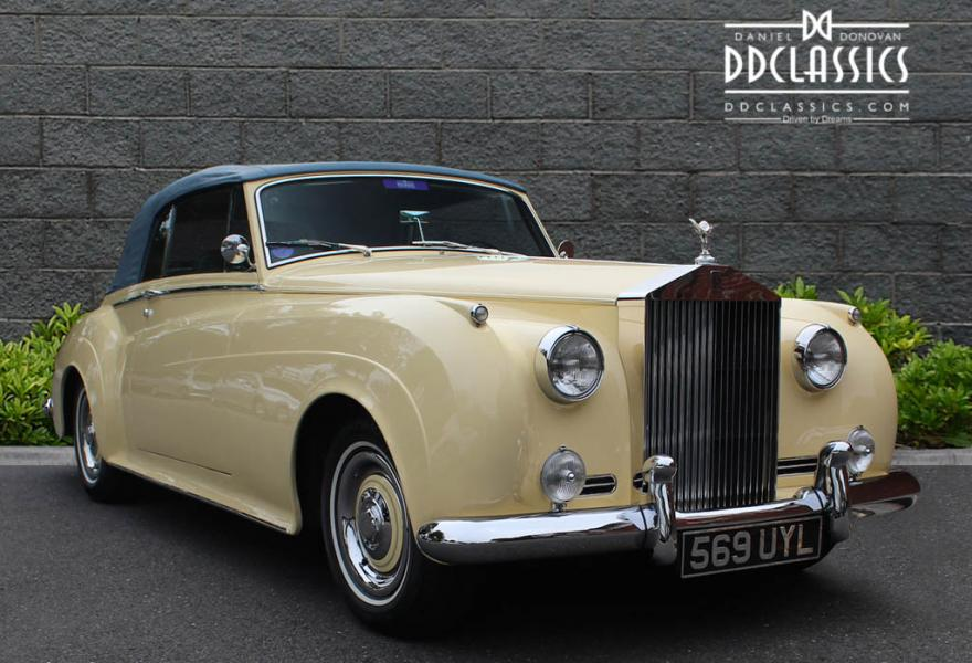 drophead coupe classic rolls royce for sale