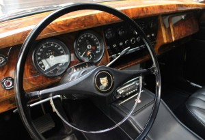 1966 Jaguar Interior