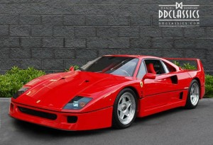 1990 Ferrari F40 Supercar For Sale