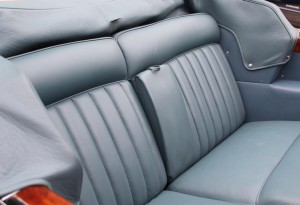 Luxurious Rear Seats