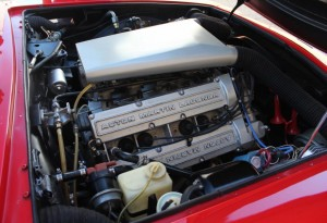 V8 Aston Martin engine