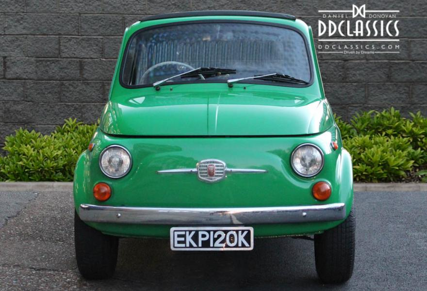 Front view of 1972 Fiat 500