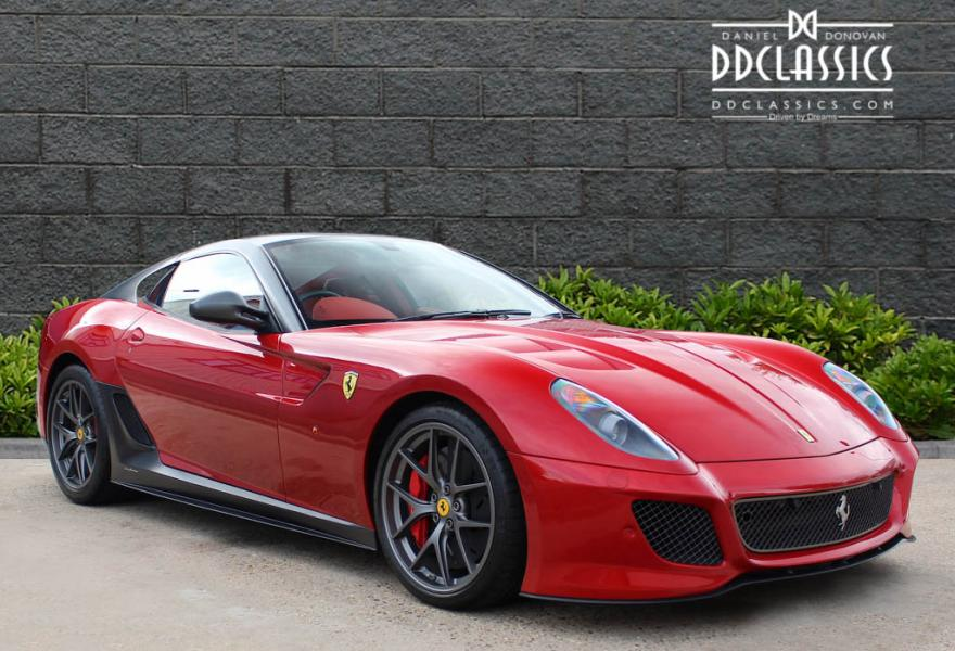 ferrari 599 gto right hand drive for sale Europe