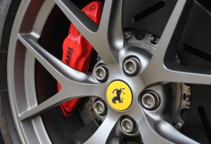diamond finish ferrari wheels