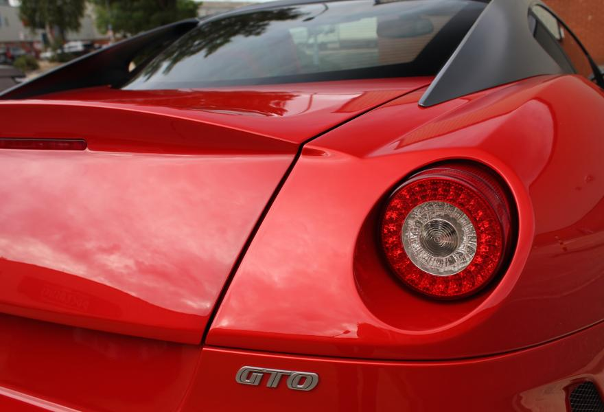 ferrari 599 gto red for sale