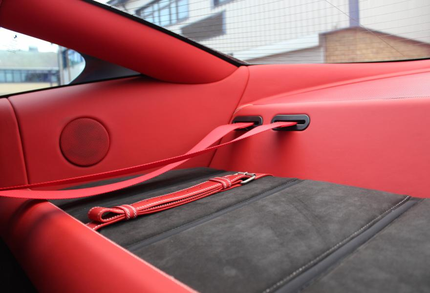 ferrari luggage compartment