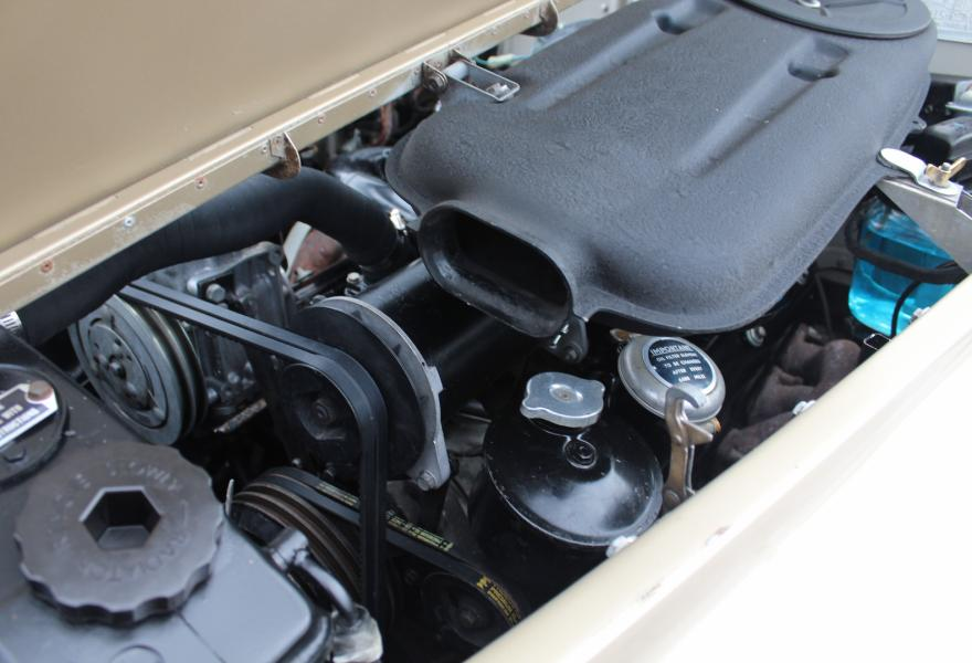 6.75 litre engine