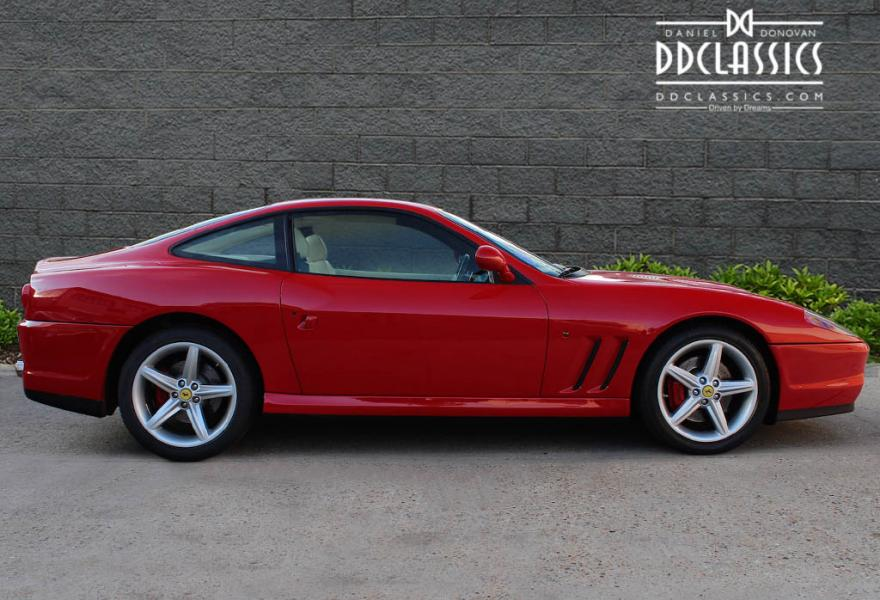 Ferrari 575M Maranello F1. The muscle car of Ferraris is now available with a paddle shifter