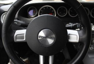 Ford GT steering wheel