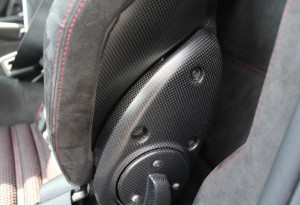 Carbon fibre seats