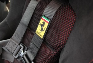 Ferrari 599 GTO racing seats