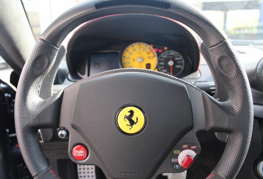 Ferrari 599 GTO steering wheel