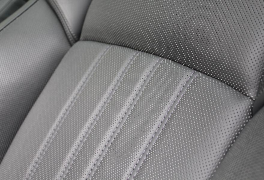 BMW M5 leather seats