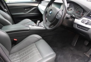BMW M5 drivers seats