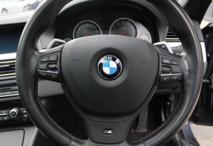 BMW M5 steering wheels