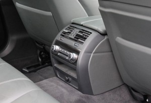 BMW M5 four zone climate control
