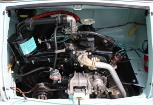 Fiat 500 Jolly engine