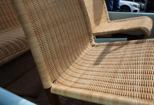 Fiat 500 Jolly wicker seats