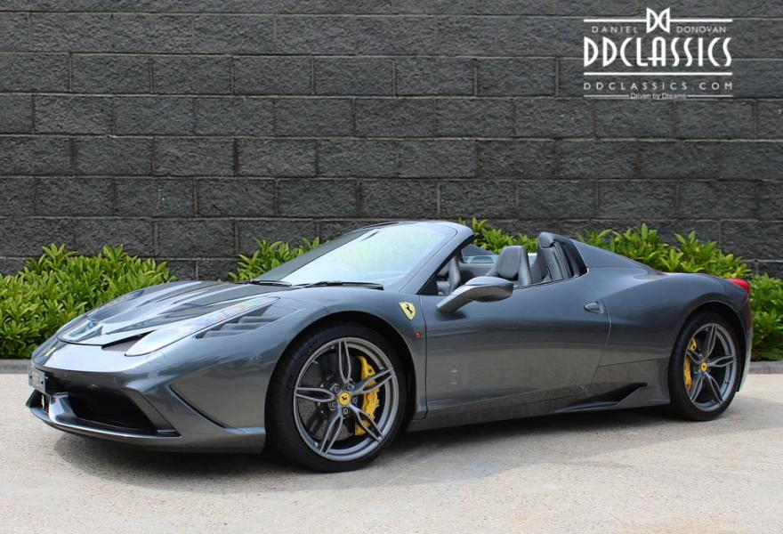 Ferrari 458 Speciale Aperta for sale