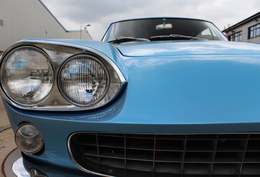 Ferrari 330 GT 2+2 quad-headlight
