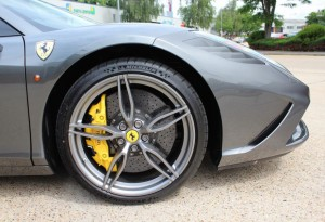 Yellow Ferrari Calipers