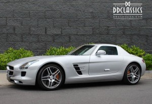 Mercedes-Benz SLS AMG Coupe for sale