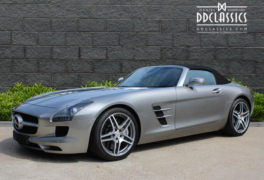 Mercedes-Benz SLS AMG Roadster for sale Right hand drive
