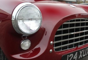 ac ace bristol roadster headlights