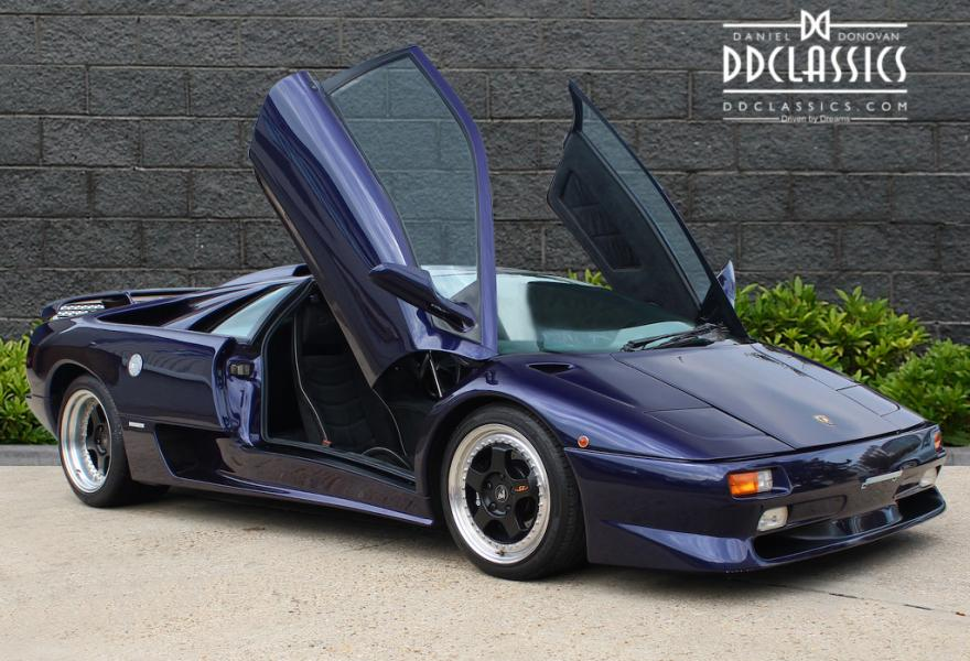 Lamborghini Diablo SV for sale UK