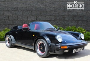 1989 Porsche 911 3.2 Speedster for sale in London (LHD)