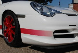 Only 140 right hand drive 996 GT3 RS cars were built by Porsche