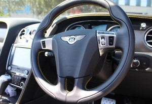 bentley steering wheel