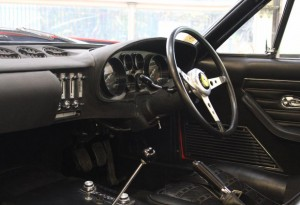 ferrari daytona black interior