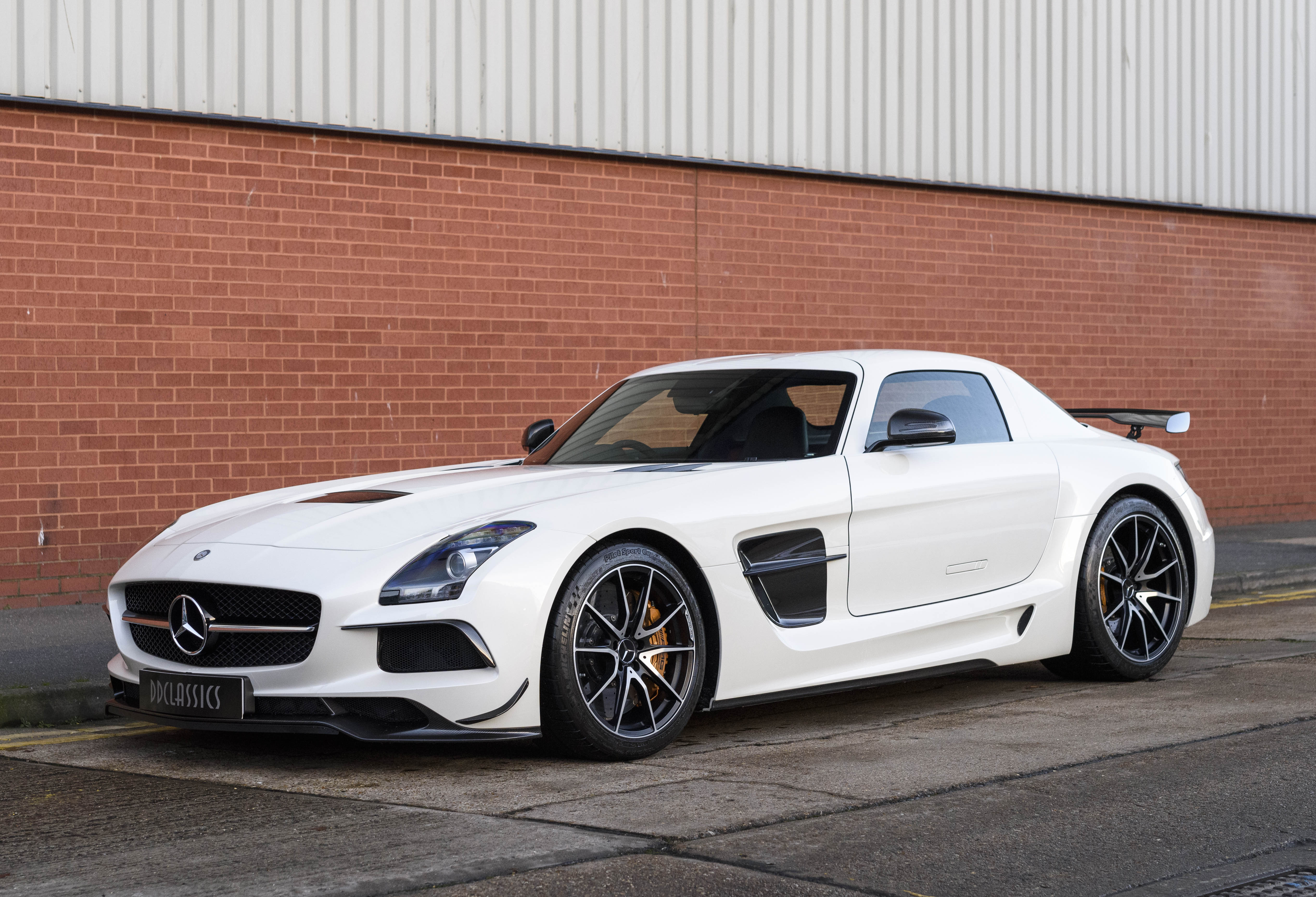 2013 Mercedes SLS AMG Black Series (RHD)