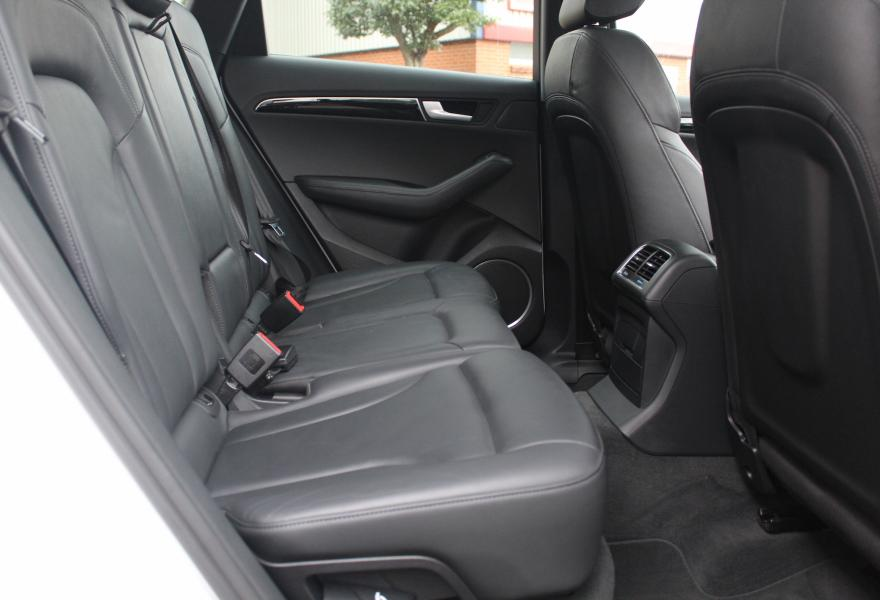 second hand audi q5 rear seats