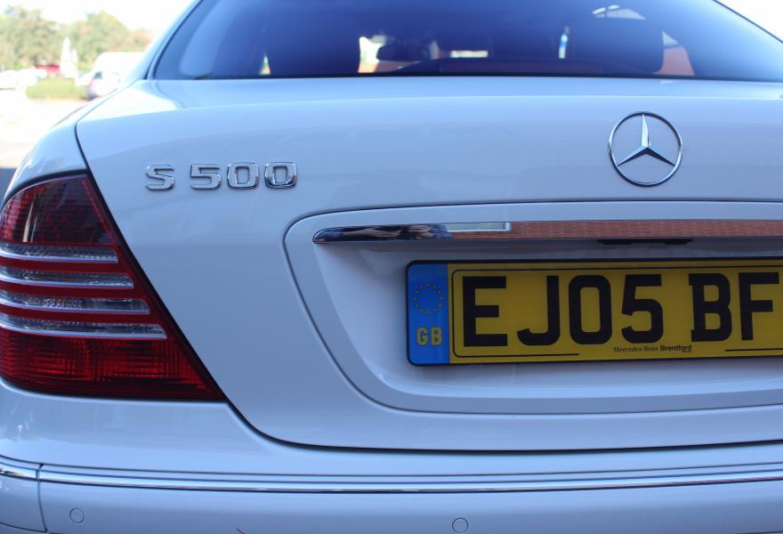used mercedes s-class for sale UK
